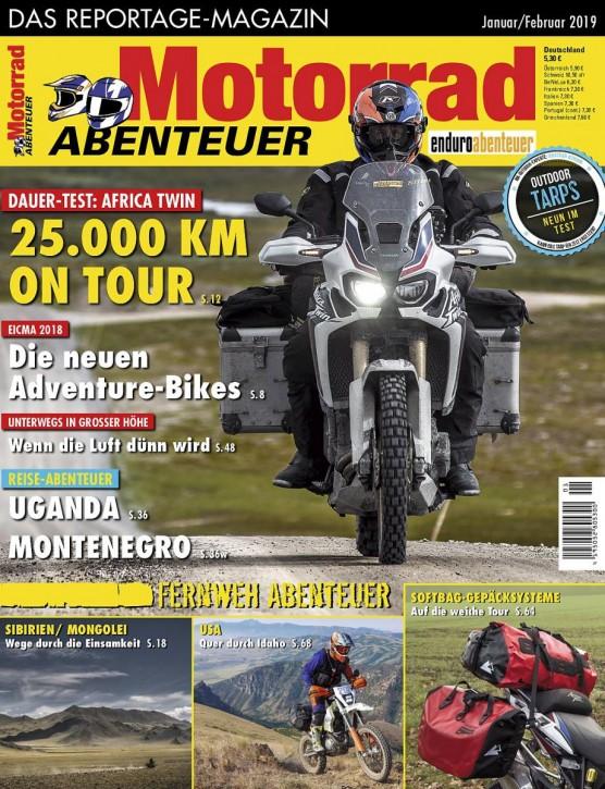 MotorradABENTEUER Januar/Februar 2019 E-Paper