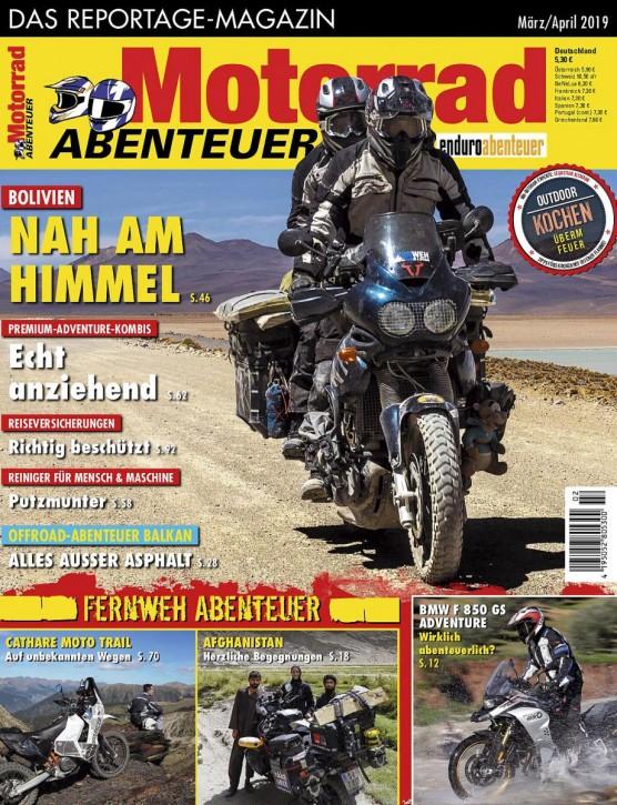 MotorradABENTEUER März/April 2019