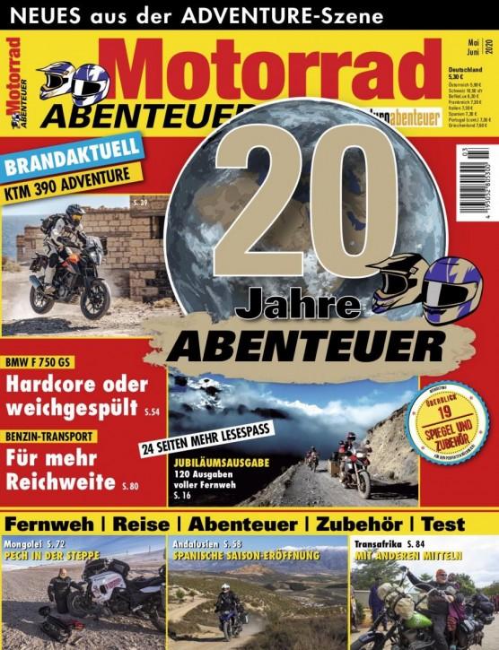 MotorradABENTEUER Mai/Juni 2020