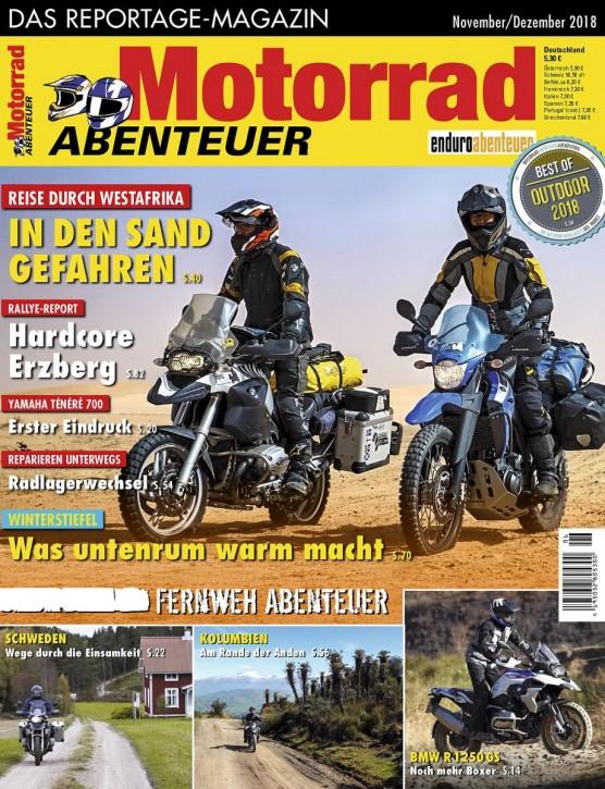 MotorradABENTEUER November/Dezember 2018