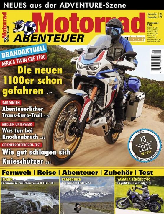 MotorradABENTEUER November/Dezember 2019 E-Paper