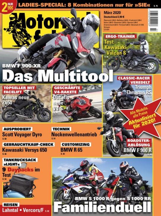 MOTORRADFAHRER März 2020 gedruckte Ausgabe
