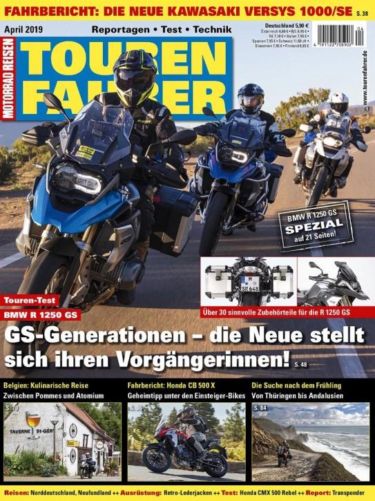 TOURENFAHRER April 2019