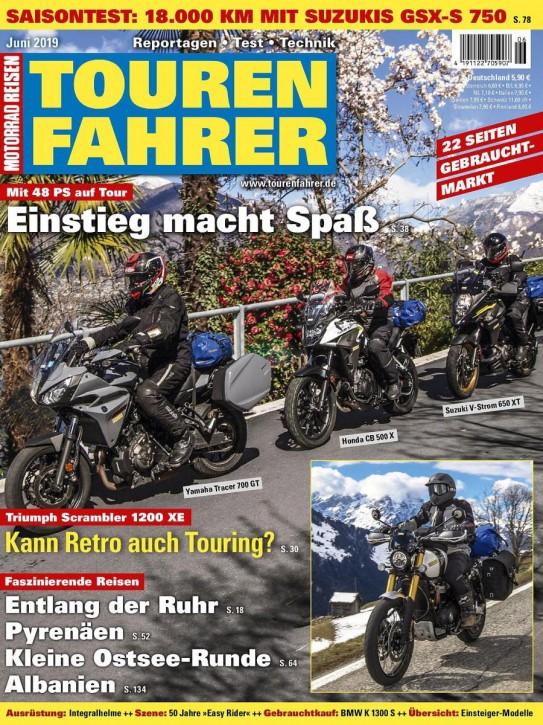 TOURENFAHRER Juni 2019 gedruckte Ausgabe