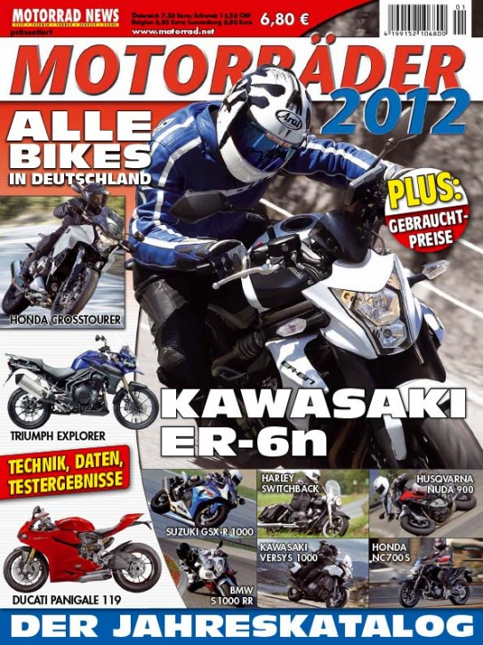 MOTORRÄDER - Der Jahreskatalog 2012