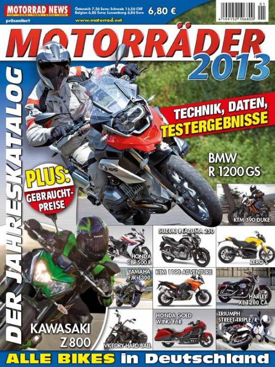 MOTORRÄDER – Der Jahreskatalog 2013