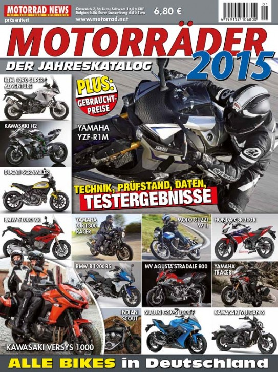 MOTORRÄDER – Der Jahreskatalog 2015