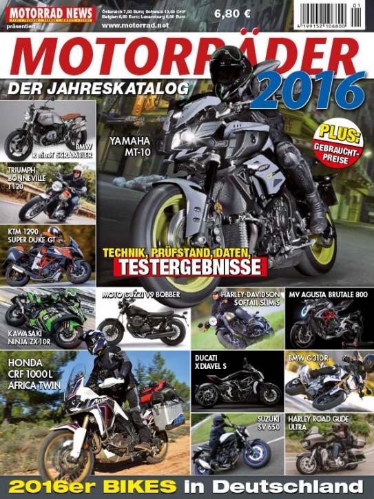 MOTORRÄDER – Der Jahreskatalog 2016