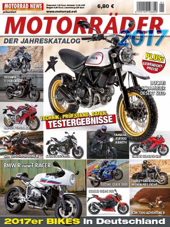 MOTORRÄDER – Der Jahreskatalog 2017