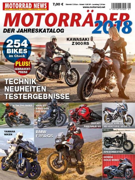 MOTORRÄDER – Der Jahreskatalog 2018