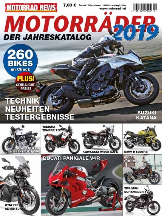 MOTORRÄDER – Der Jahreskatalog 2019