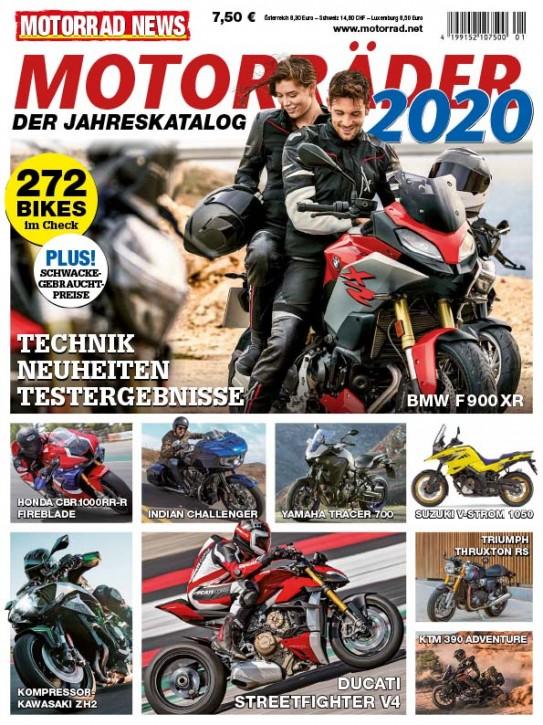 MOTORRÄDER – Der Jahreskatalog 2020
