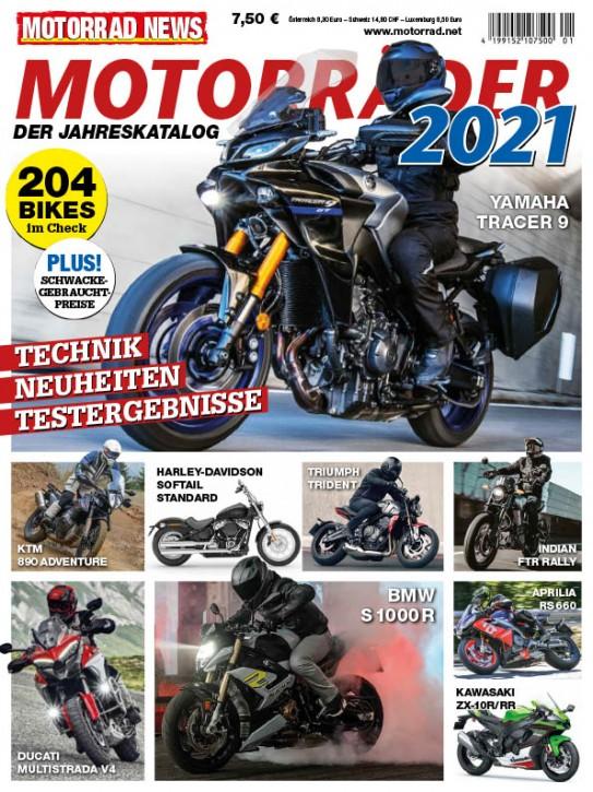 MOTORRÄDER – Der Jahreskatalog 2021