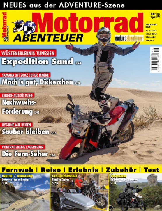 MotorradABENTEUER März/April 2021