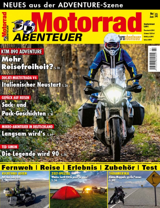 MotorradABENTEUER Mai/ Juni 2021