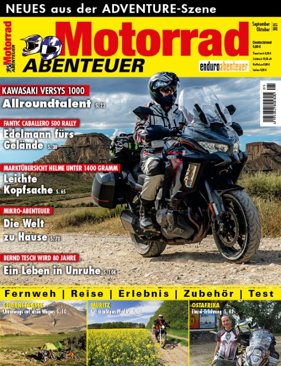 MotorradABENTEUER September/ Oktober 2021