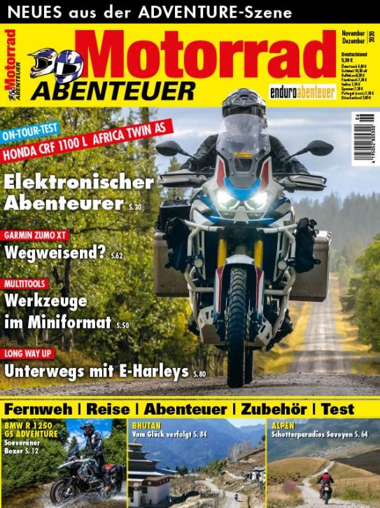 MotorradABENTEUER November/Dezember 2020