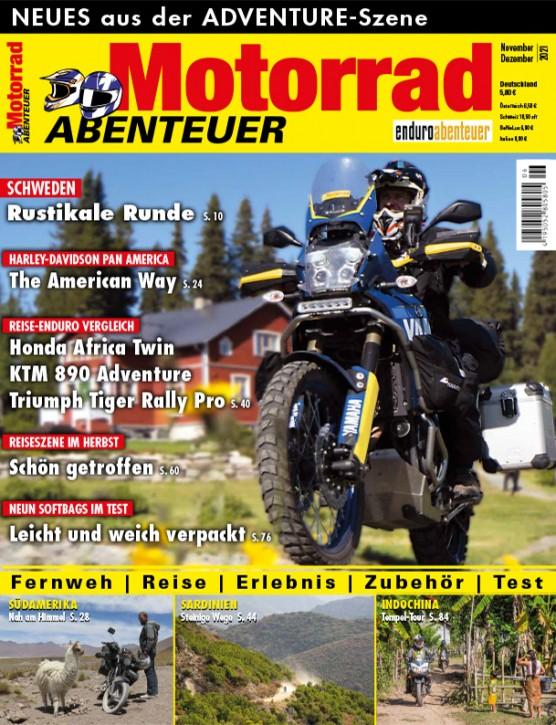 MotorradABENTEUER November/Dezember 2021