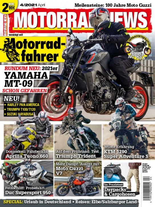 MOTORRAD NEWS 4/2021 gedruckte Ausgabe