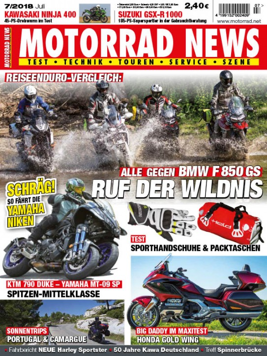 MOTORRAD NEWS 7/2018
