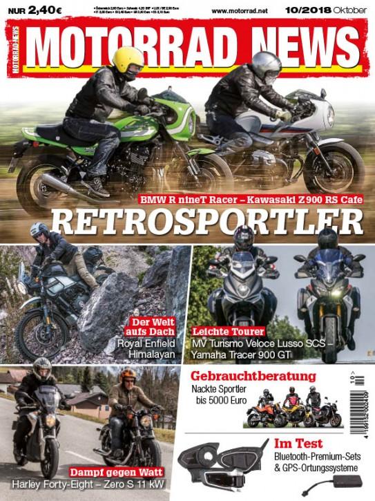 MOTORRAD NEWS 10/2018