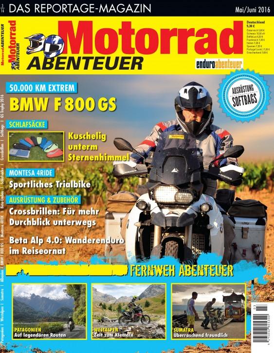 MotorradABENTEUER Mai/Juni 2016