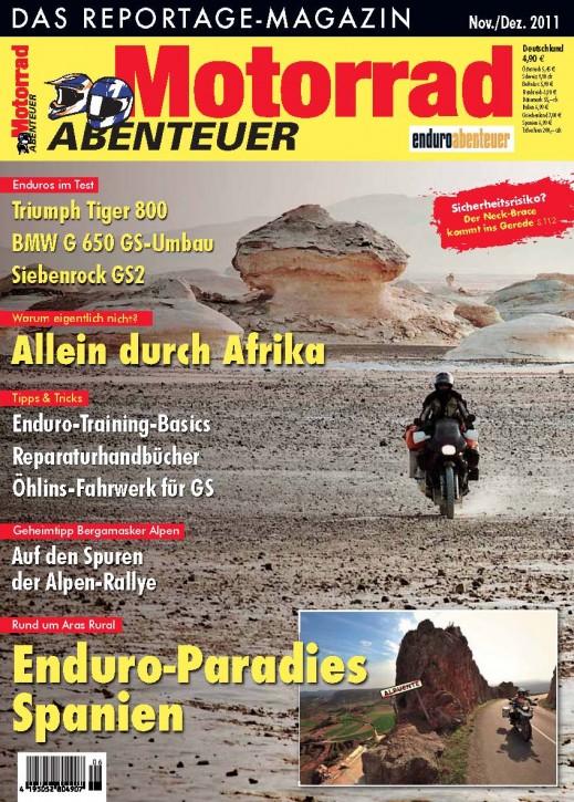 MotorradABENTEUER November/Dezember 2011