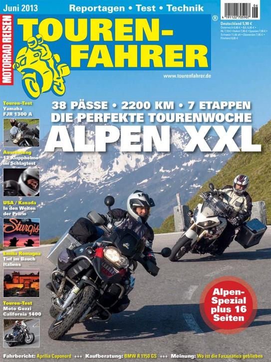 TOURENFAHRER Juni 2013 gedruckte Ausgabe