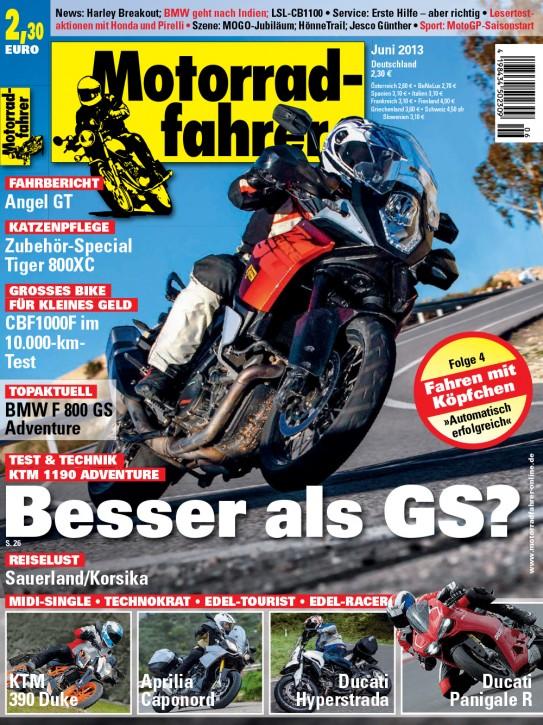 MOTORRADFAHRER Juni 2013 E-Paper