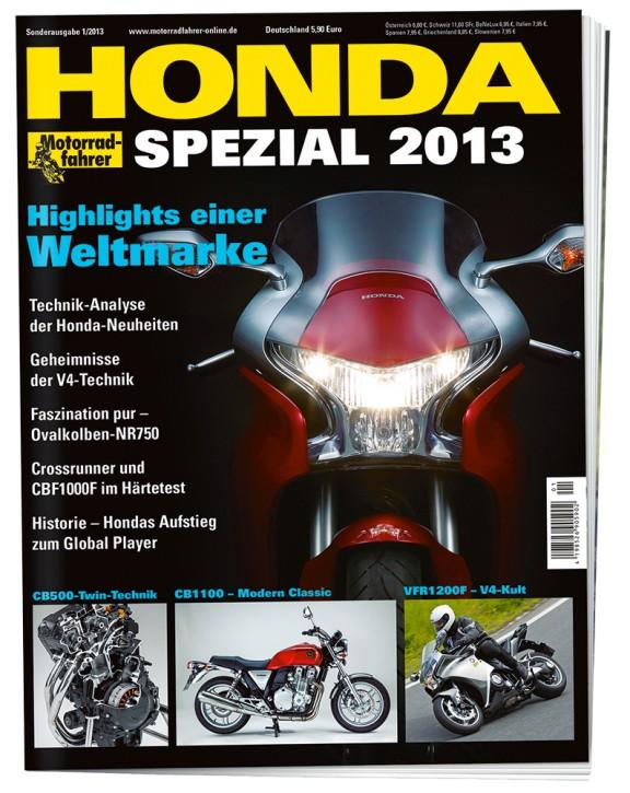 MOTORRADFAHRER - HONDA SPEZIAL 2013