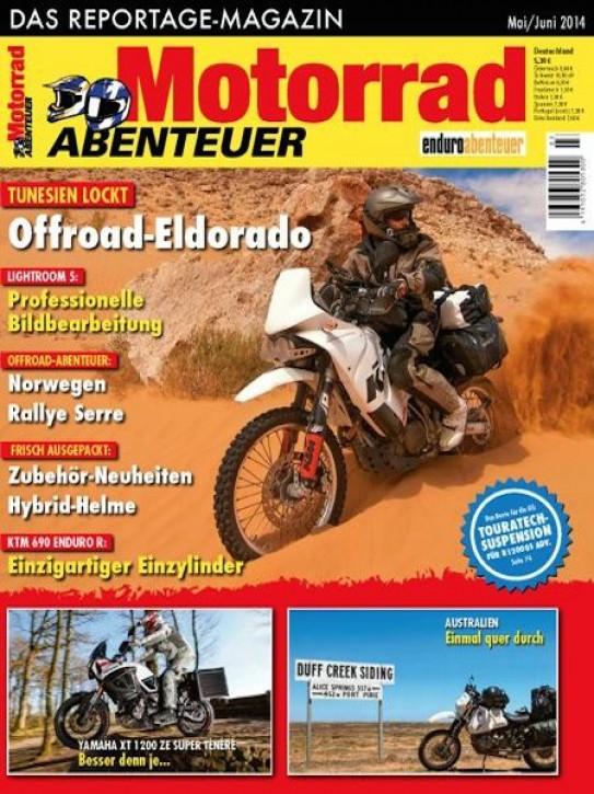 MotorradABENTEUER Mai/Juni 2014