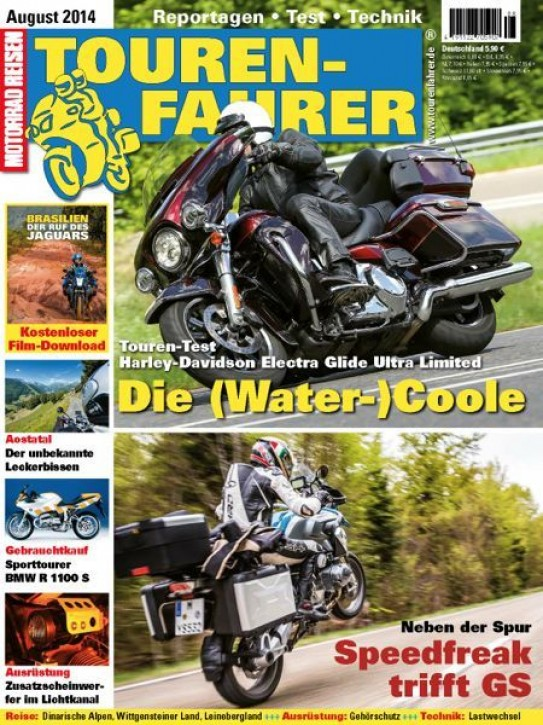 TOURENFAHRER August 2014 gedruckte Ausgabe