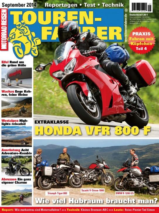 TOURENFAHRER September 2014 gedruckte Ausgabe