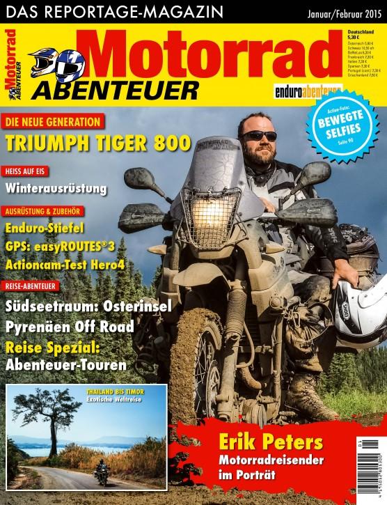 MotorradABENTEUER Januar/Februar 2015
