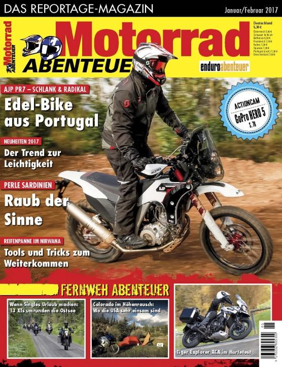 MotorradABENTEUER Januar/Februar 2017