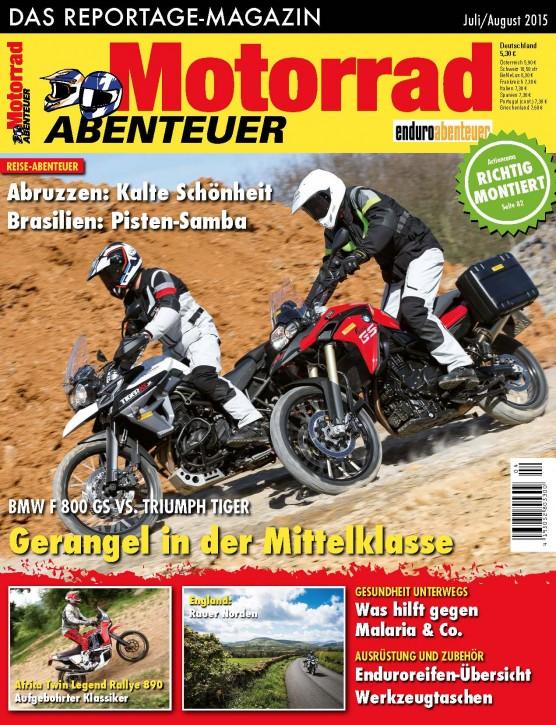 MotorradABENTEUER Juli/August 2015