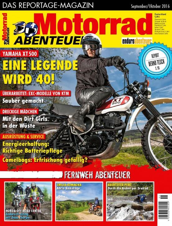 MotorradABENTEUER September/Oktober 2016