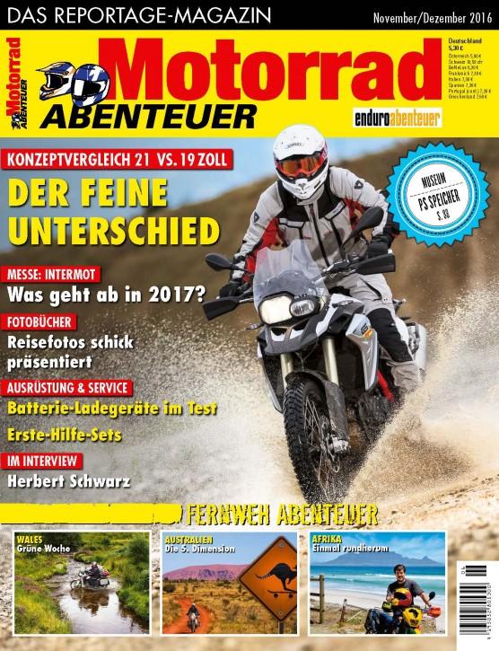 MotorradABENTEUER November/Dezember 2016