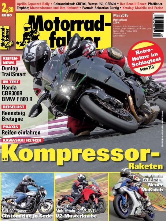 MOTORRADFAHRER Mai 2015 gedruckte Ausgabe