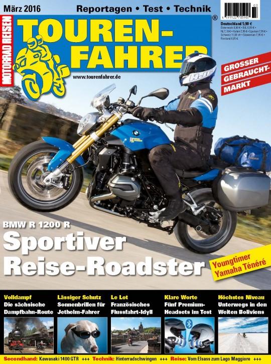 TOURENFAHRER März 2016 gedruckte Ausgabe
