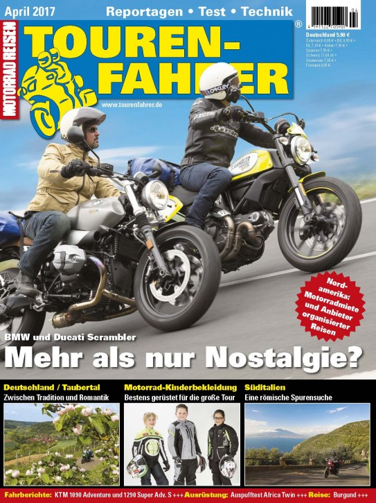 TOURENFAHRER April 2017