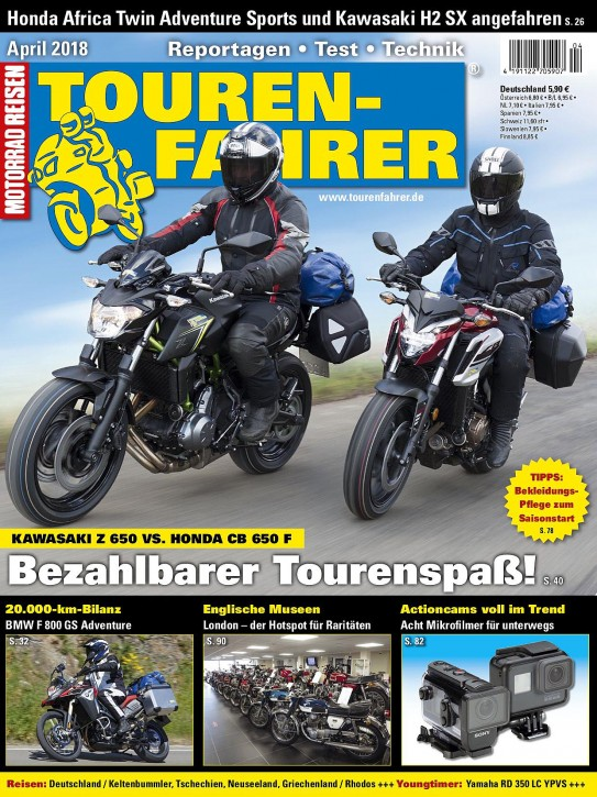 TOURENFAHRER April 2018