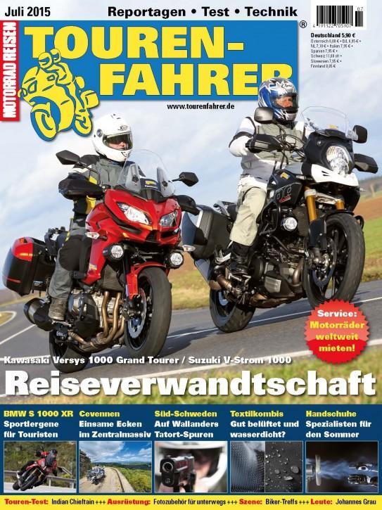 TOURENFAHRER Juli 2015 gedruckte Ausgabe