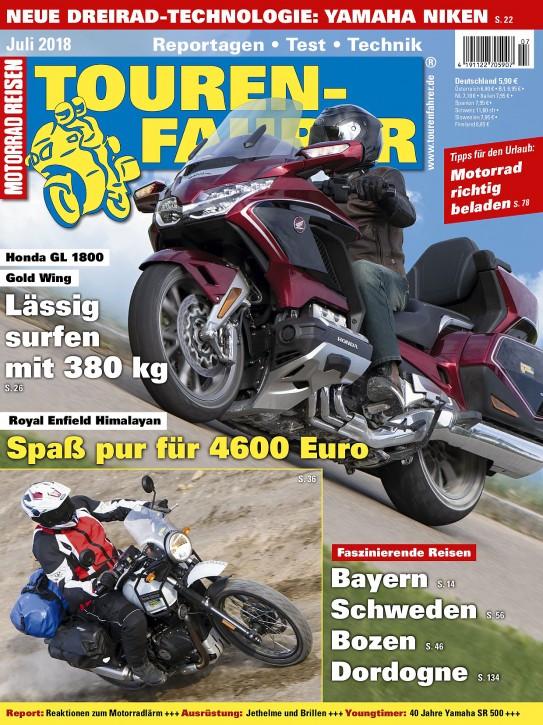 TOURENFAHRER Juli 2018 gedruckte Ausgabe