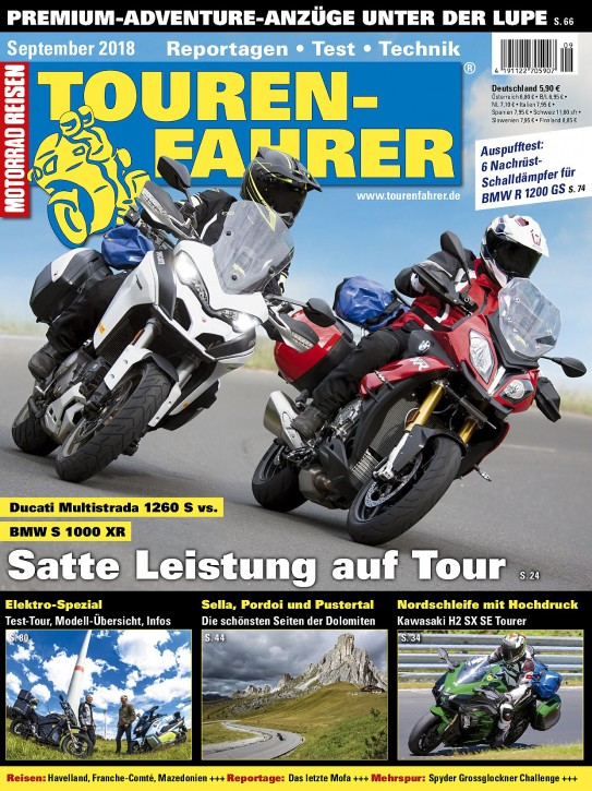 TOURENFAHRER September 2018