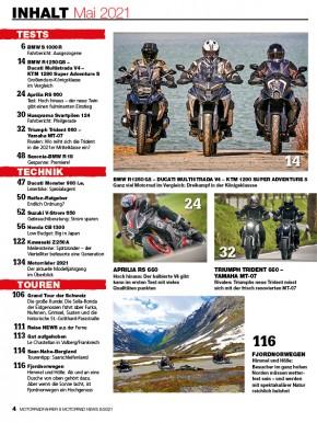 MOTORRAD NEWS 5/2021 gedruckte Ausgabe