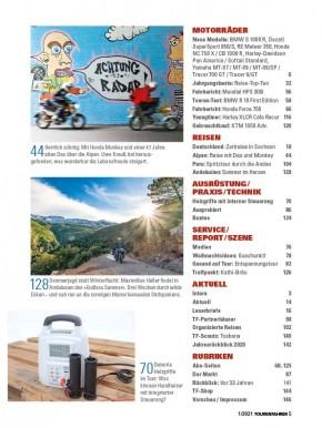 TOURENFAHRER Januar 2021 gedruckte Ausgabe