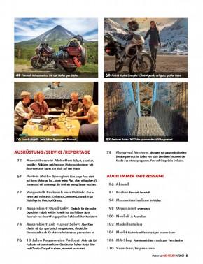 MotorradABENTEUER Juli/ August 2021 gedruckte Ausgabe