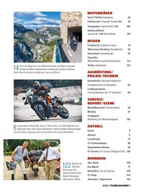 TOURENFAHRER März 2021 gedruckte Ausgabe