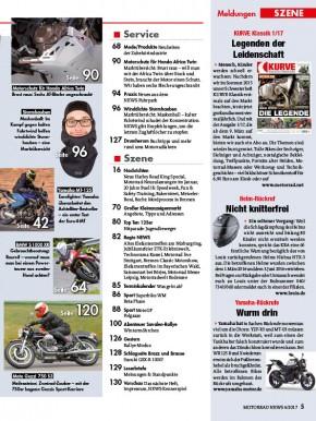 MOTORRAD NEWS 4/2017 gedruckte Ausgabe